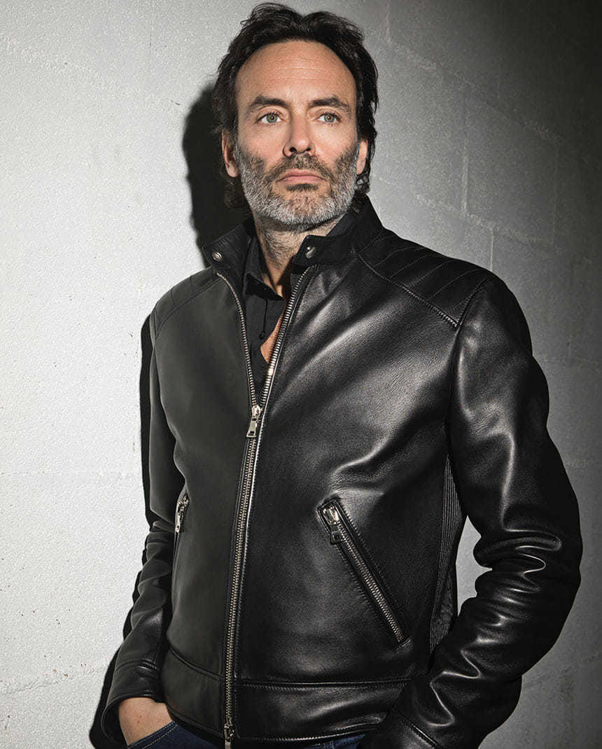 blouson anthony delon collection cuir hommes